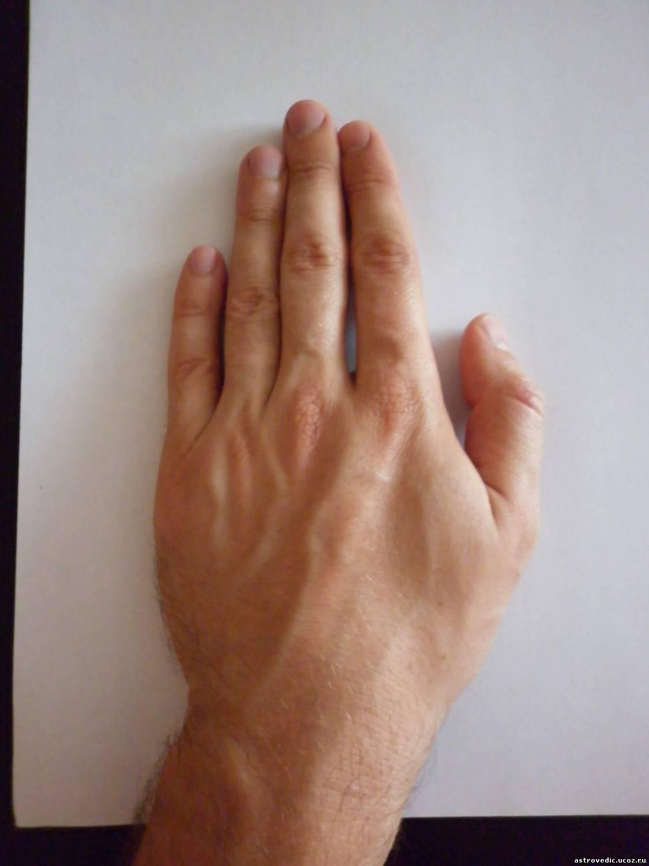 Как сделать длинный палец 7